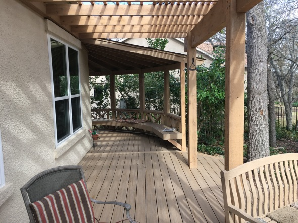 Georgetown custom pergola builder
