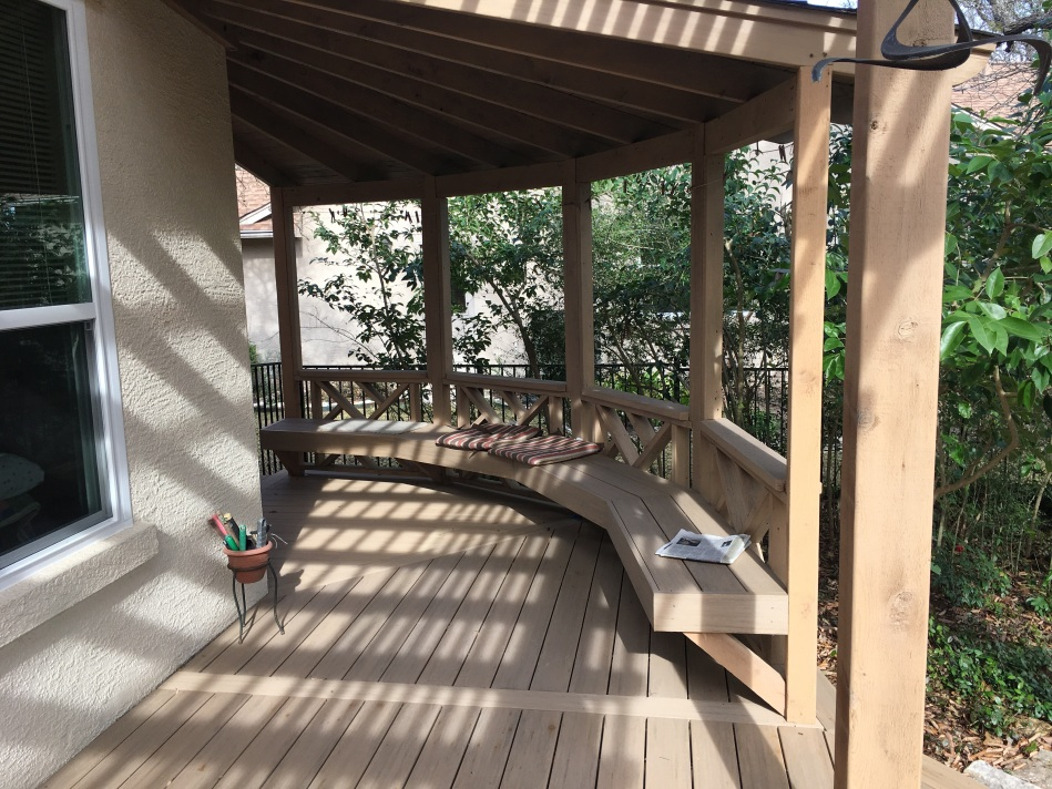 Sun City deck builder in Georgetown TX