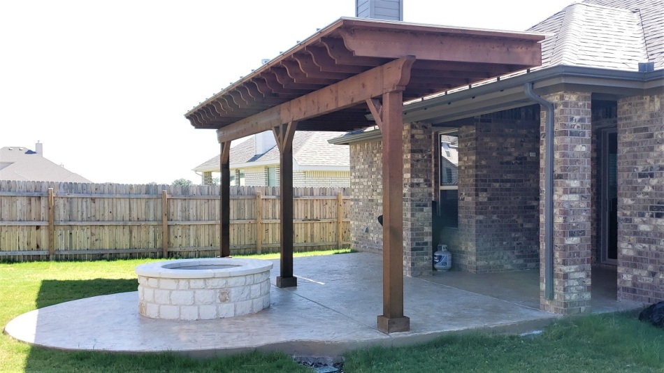 Liberty Hill patio builders