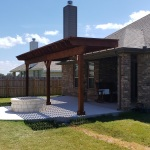Liberty Hill TX custom outdoor living