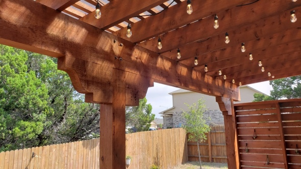 NE Austin shade pergola builder