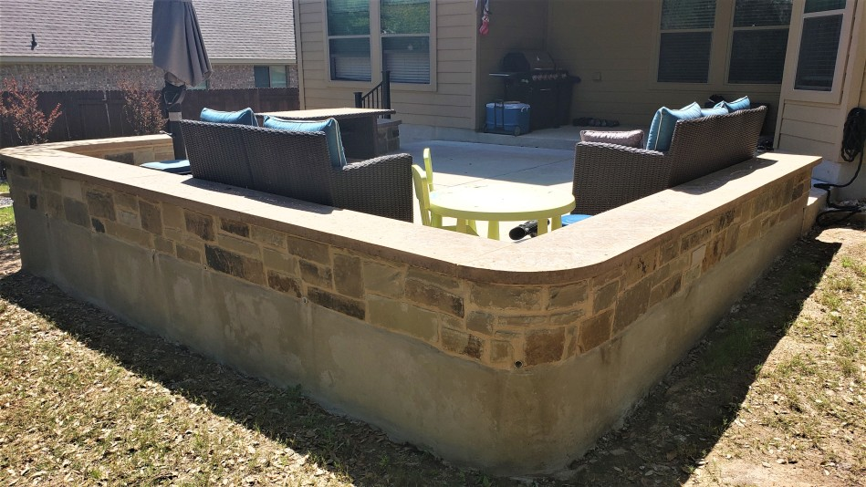 Brushy Creek patio