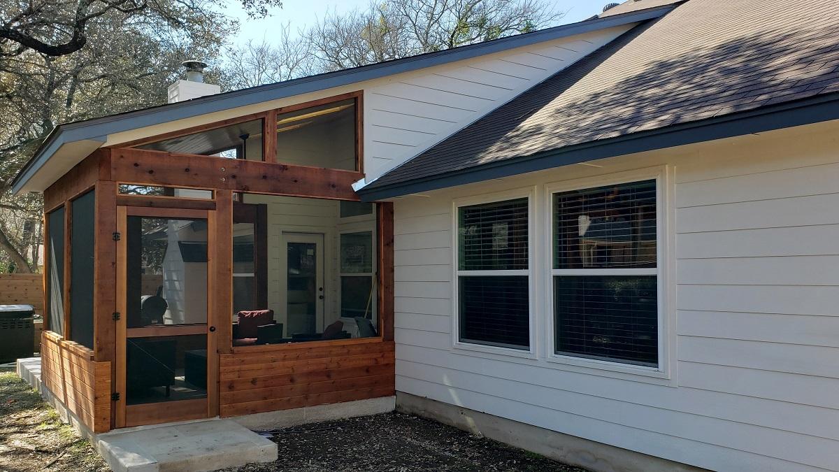 Screened Porches Austin Decks Pergolas Covered Patios Porches More