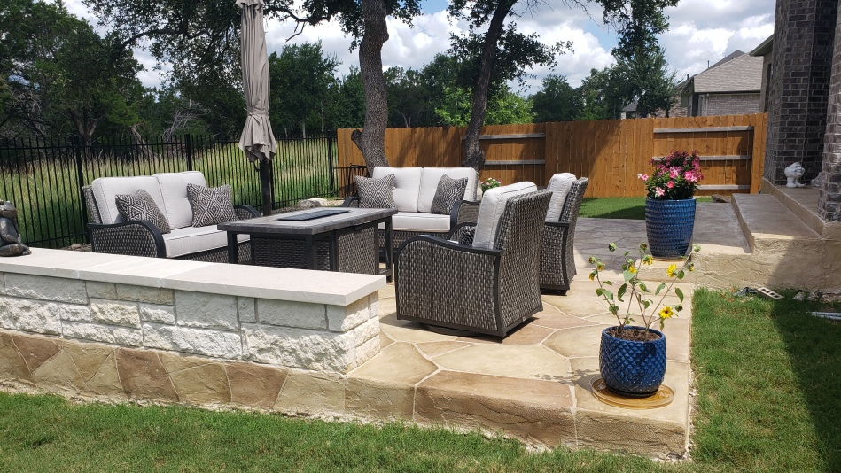 Patio Gets Premium Upgrades for Family's New Swim Spa in Mayfield Ranch, Round Rock, TX